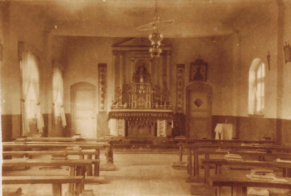 De kapel van de zusters en de maagden in 'De Pens'.