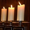 Kaarsen-altaar
